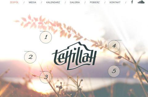 Zespół Tehillah – nowa strona www