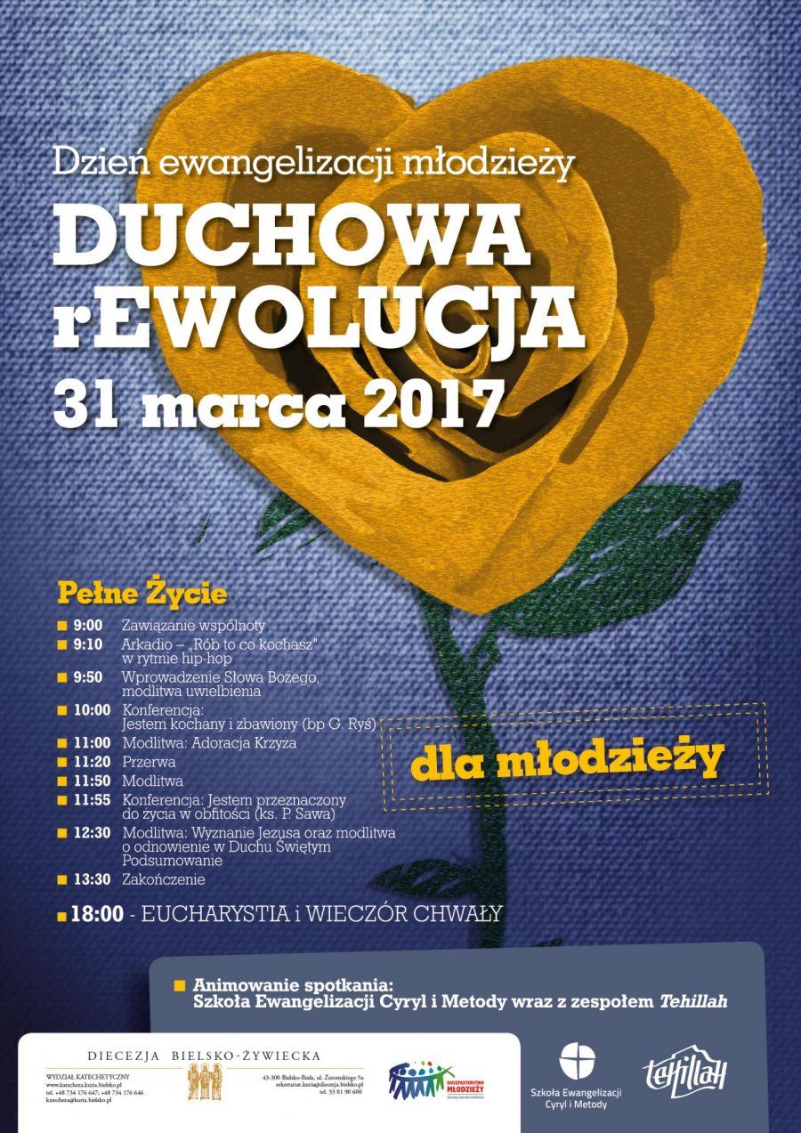 Duchowa rEwolucja młodzieży w diecezji bielsko-żywieckiej – transmisja online