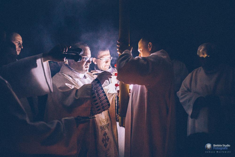 Liturgia Wigilii Paschalnej, 15/16 kwiecień 2017,Bystra Krakowska
