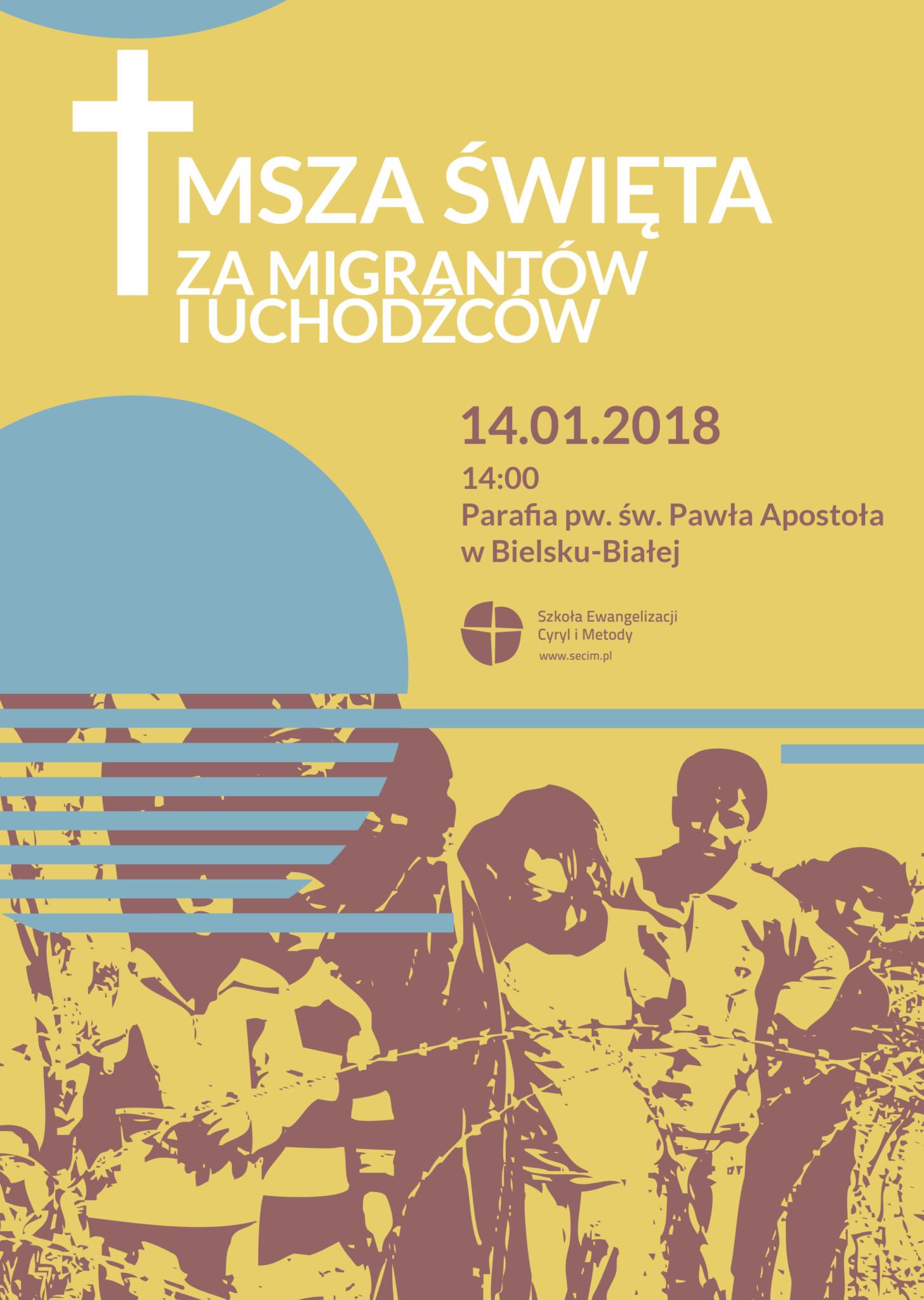Eucharystia za migrantów i uchodźców