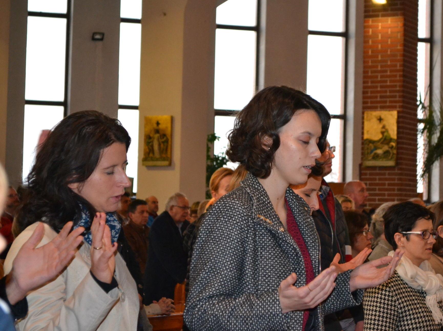 Pierwsze spotkanie modlitewne w Nowym Roku