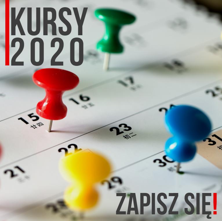 Kursy w 2020 roku