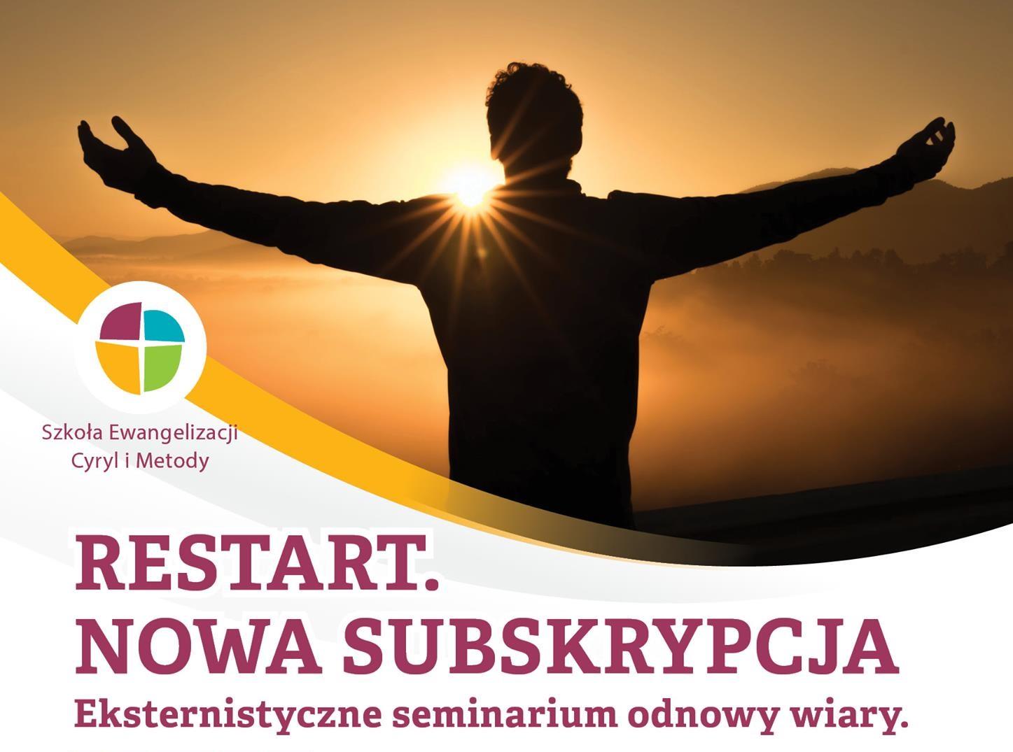RESTART – Eksternistyczne Seminarium Odnowy Wiary