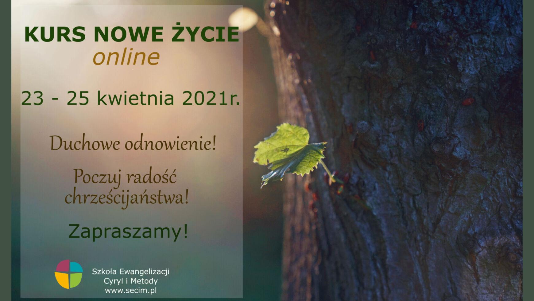 Kurs Nowe Życie, Online